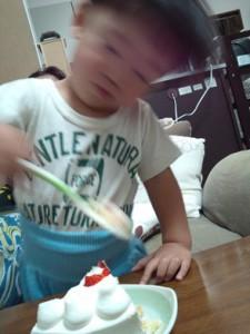 ケーキ!2歳のケーキ!!