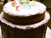パパス渾身の二段ケーキ!